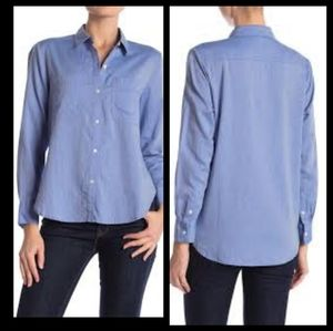 James Perse Button Down Shirt, 2 Avail. Sz.1&0